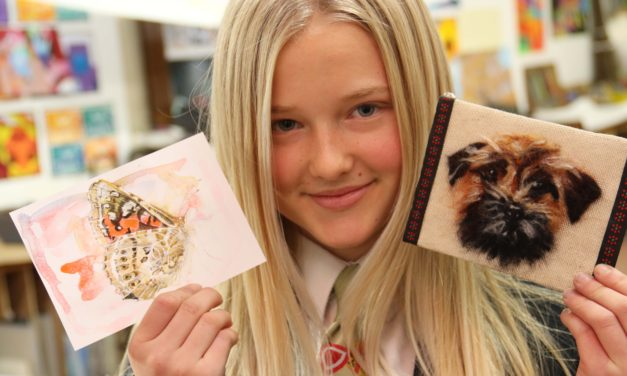 School draws on artists' support to help street dog charity