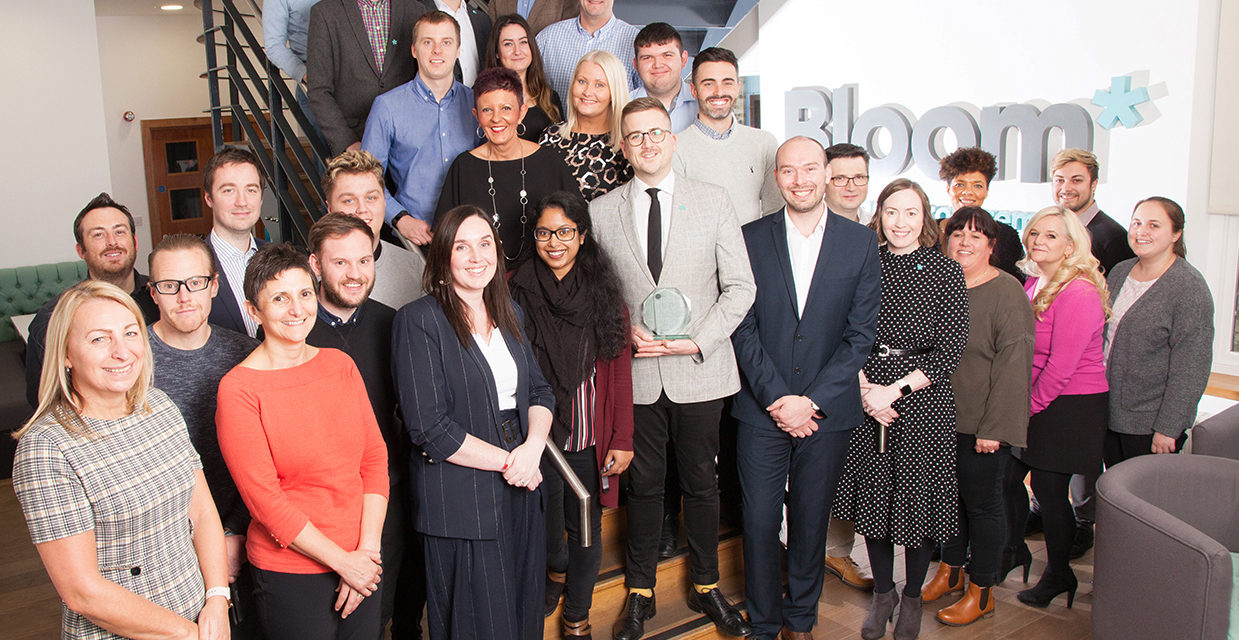 After a year of exponential growth Bloom is officially the 'Highest Climber' in the Top 200 North East companies