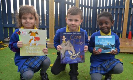 School completes outdoor learning area following donation
