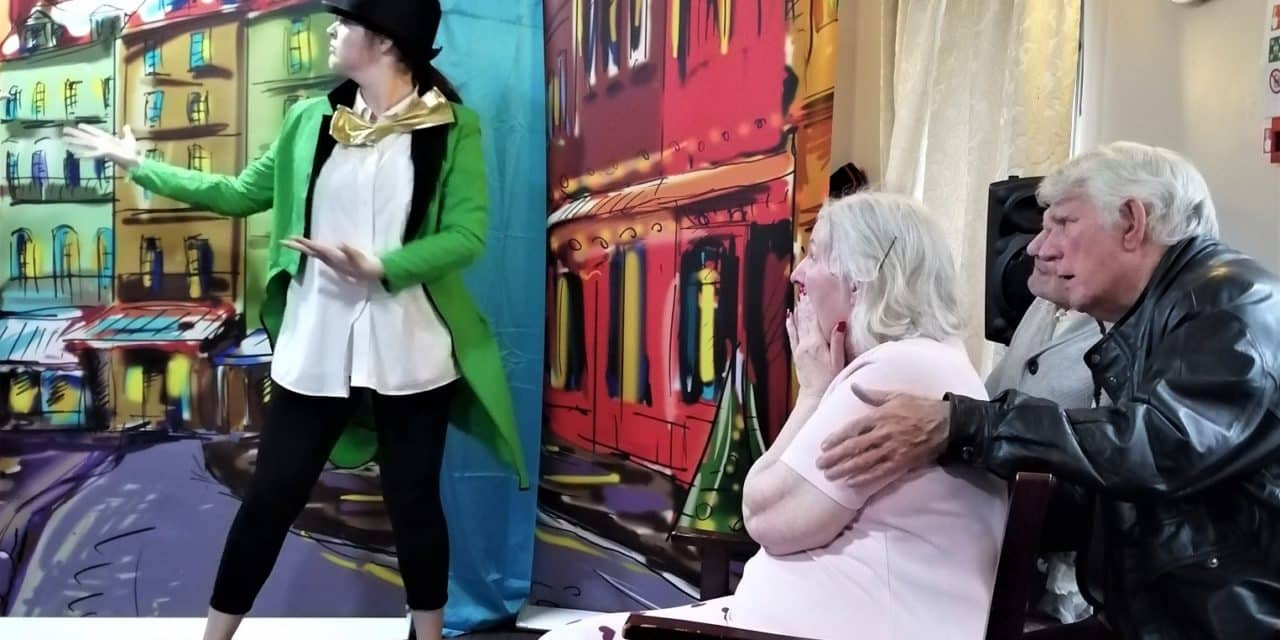Travelling theatre troupe takes Oliver! to Teesside care homes