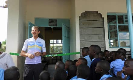 North East pedal power funds new classroom for schoolchildren in Africa