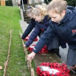 School turns out to remember its fallen