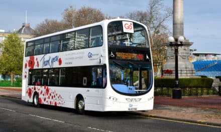 Go North East offers free bus travel for veterans and members of the Armed Forces