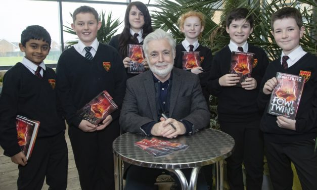 Cramlington school visit to end Artemis Fowl author's tour