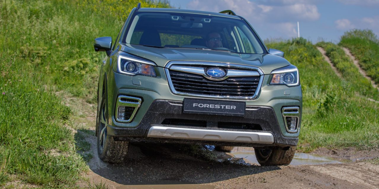 THE ALL NEW FORESTER E-BOXER