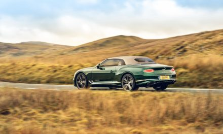 TAILORED FOR INDIVIDUALS: BENTLEY'S TAKE ON TWEED IN THE ULTIMATE OPEN-TOP GRAND TOURER