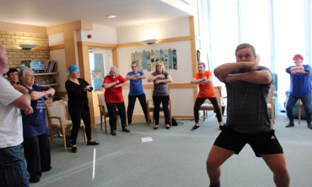 Hospice Haka as ladies learn dance from pros as part of bucket list