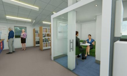Vision For Newcastle Building Society's New Hawes Branch Going On Show
