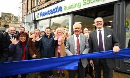 Official Opening For Newcastle Building Society's New Hexham Branch
