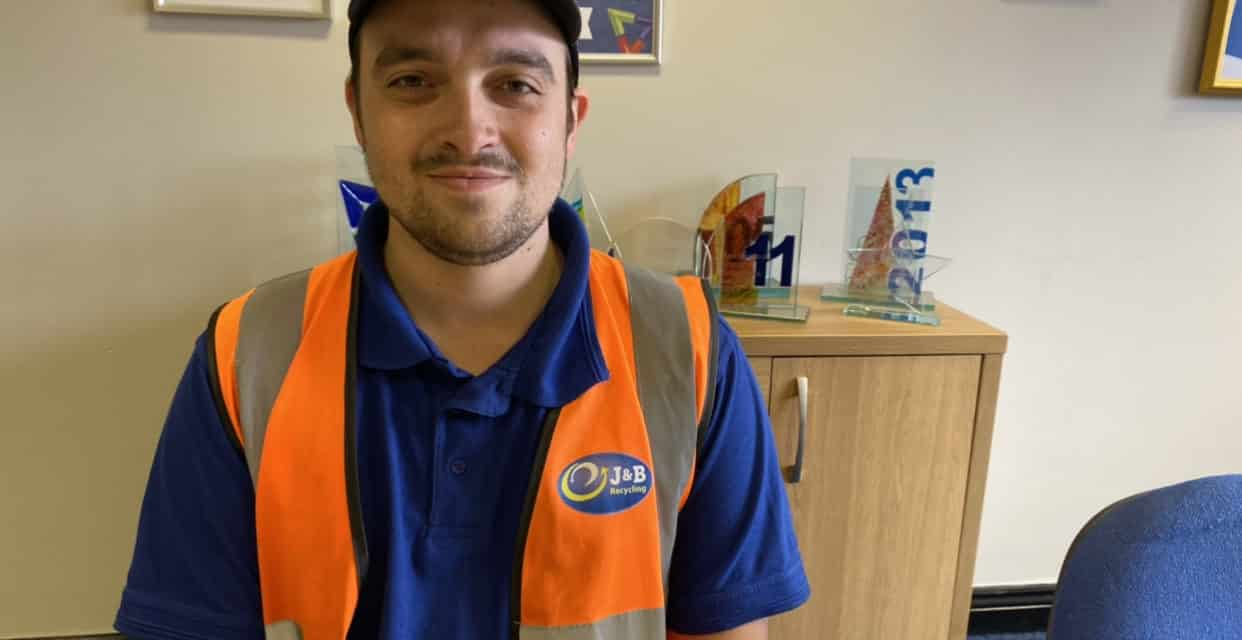 J&B Recycling appoints new Health and Safety Officer