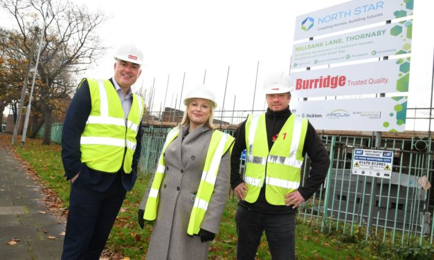 Teesside affordable housing scheme gets underway