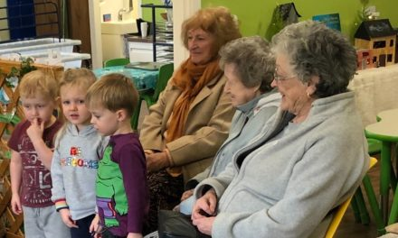 Generations come together to celebrate World Nursery Rhyme Week