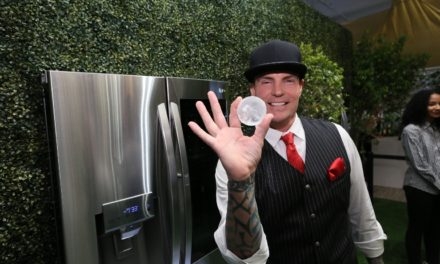 """TWO ICONIC """"ICES"""" HELP INTRODUCE WORLD'S FIRST CRAFT ICE REFRIGERATOR FROM LG"""