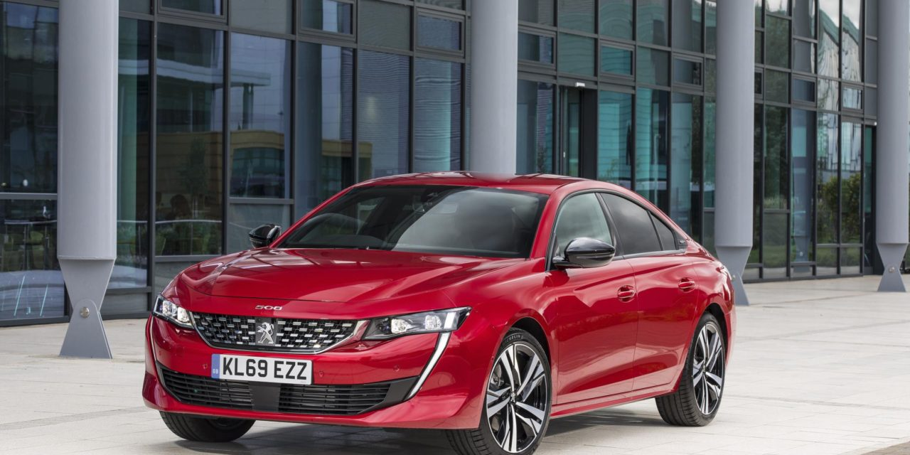 ALL-NEW PEUGEOT 508 FASTBACK VOTED BEST UPPER-MEDIUM CAR AT THE 2019 BUSINESS CAR AWARDS