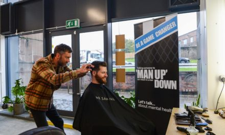 Newcastle United Foundation teams up with barber to talk mental health