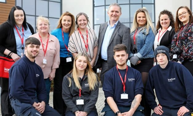 New apprentices lay their foundations with Karbon Homes