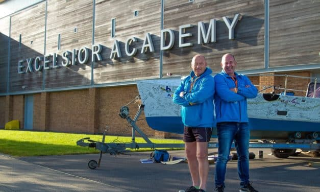 Newcastle pupils learn how to prepare for the world's toughest rowing challenge