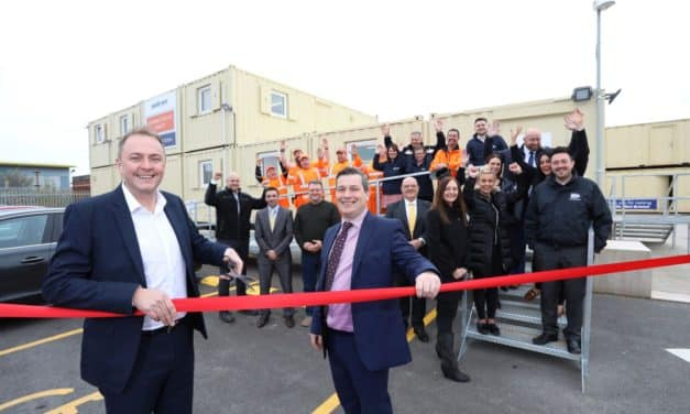 £1 million site move stacks up success