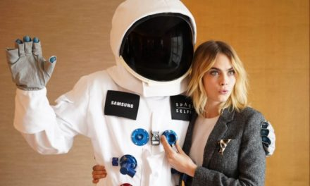 Cara Delevingne and Samsung Partner to Send Selfie into Space