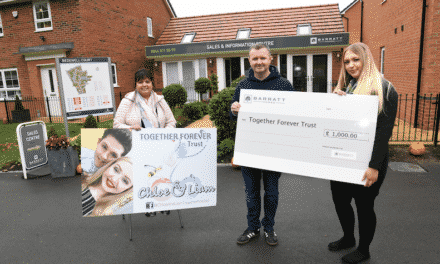 Local housebuilder helps charity support talented youngsters of Hebburn