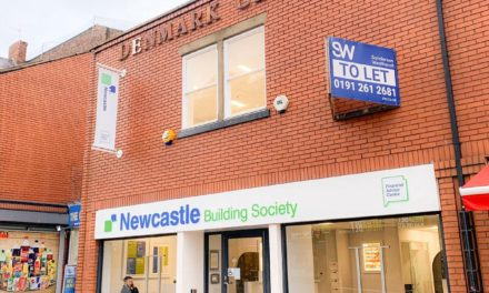 Doors Opening At Newcastle Building Society's New South Shields Branch