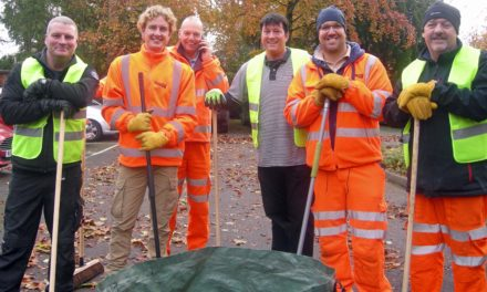 Rail workers on track to help hospice
