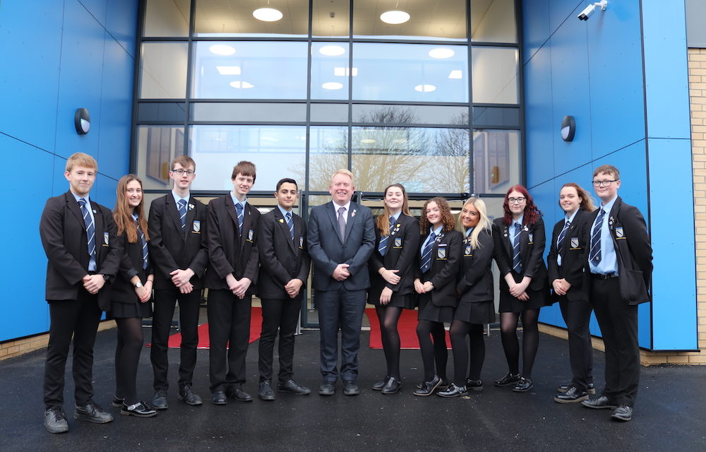 £18m High Tunstall opens its doors to next generation of students