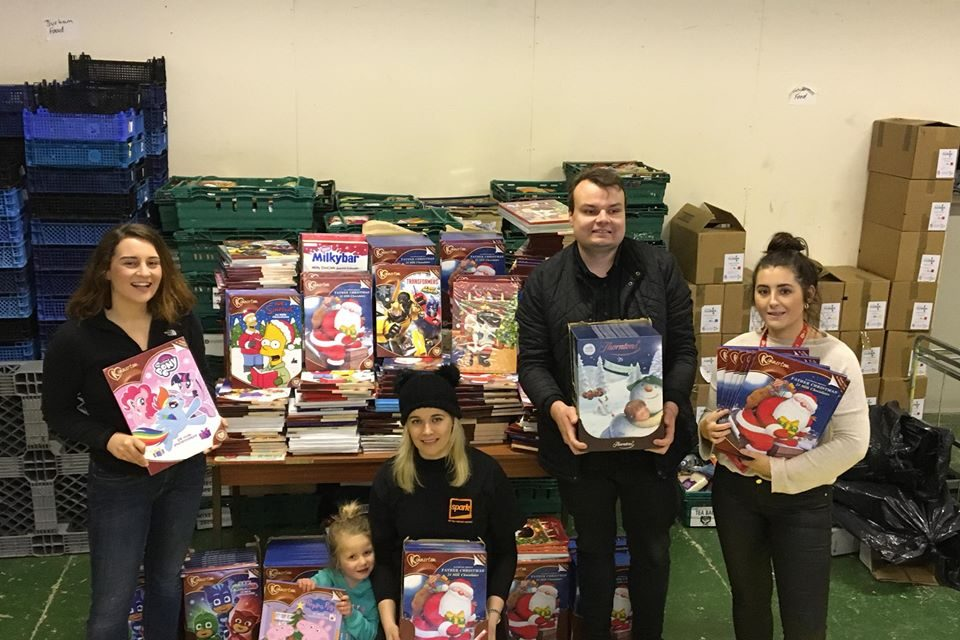 SUNDERLAND GIVES THE GIFT OF GIVING…