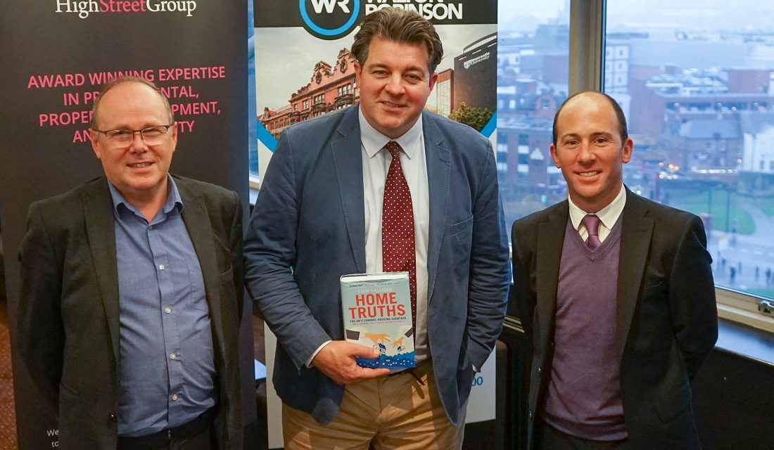 Economist and Author Liam Halligan highlights challenges facing UK housing sector at Newcastle event
