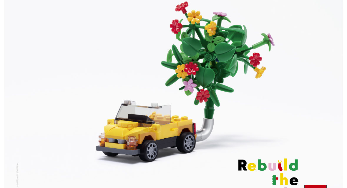 THE LEGO GROUP WITH MARK RONSON INSPIRE KIDS TO REBUILD THE WORLD