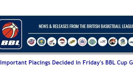 Important Placings Decided in Friday's BBL Cup Games