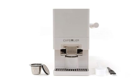 Capsulier Creates Sustainable Coffee Pod