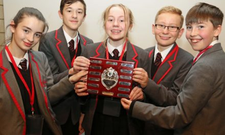 Sunderland students win business challenge at first attempt