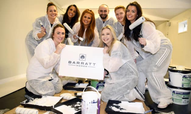 Five star housebuilder gives back to the local community