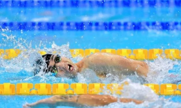 New world record for Northumbria Paralympic swimmer