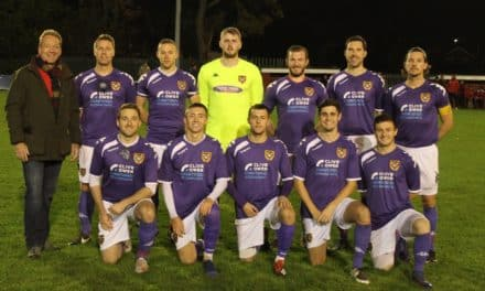 CLIVE OWEN LLP KITS OUT LOCAL FOOTBALL TEAM