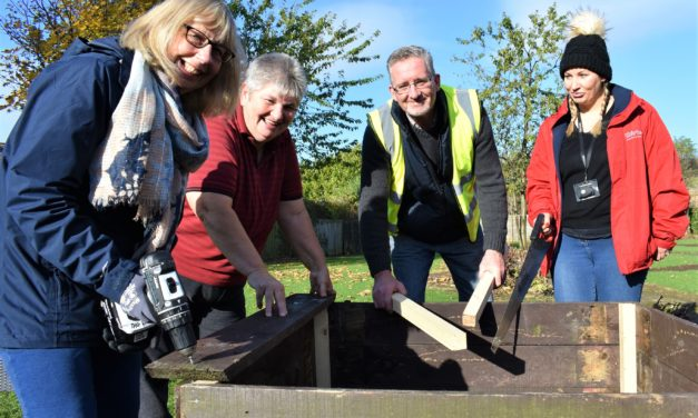 Middlesbrough residents dig deep for community garden
