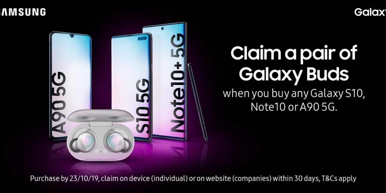 Samsung Celebrates 10 Years of Galaxy By Offering Consumers the Chance to Claim a Complimentary Pair of the New Silver Galaxy Buds with Selected Galaxy Smartphone Purchases