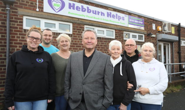 Company donation to support Hebburn Helps charity