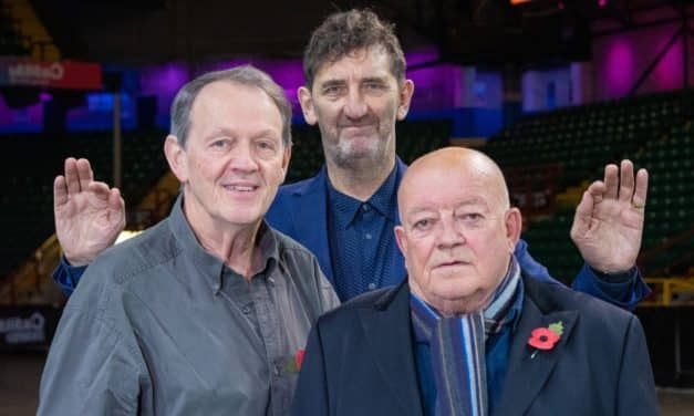 HODS OF FUN AS GEORDIE BRICKIES REUNITED FOR SUNDAY FOR SAMMY 20TH ANNIVERSARY SHOWS