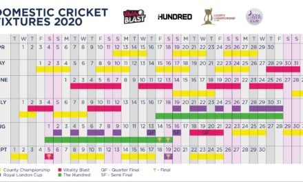 The Hundred Fixtures 2020 Revealed