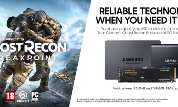 Unlock Exclusive In-Game Content For Tom Clancy's Ghost Recon Breakpoint With New Samsung SSD Promotion