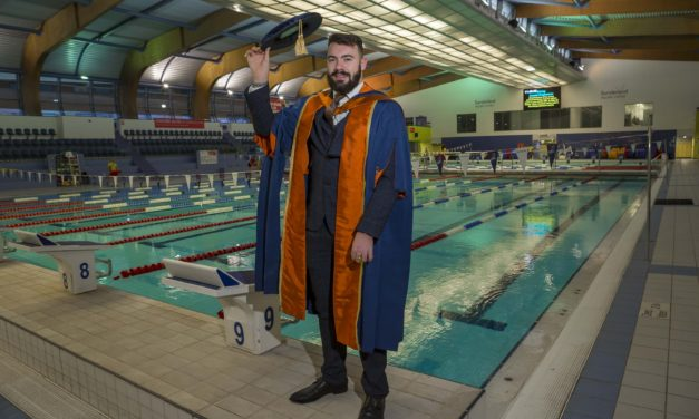 Graduations 2019: Paralympian Josef Craig makes a splash
