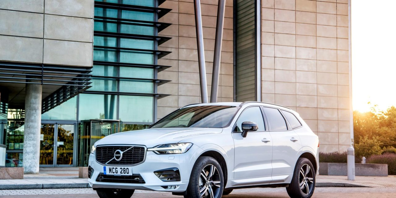 NEW MILD HYBRID VOLVO XC60 GETS THE BLUE LIGHT FROM TWO FIRE SERVICES