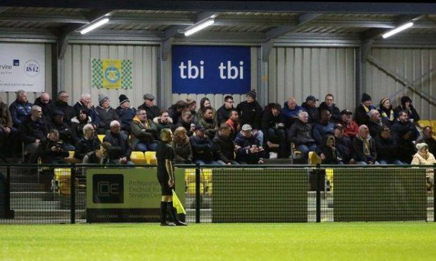 Find The Golden Ticket! TBI Solicitors Offer Up Hidden Treat For Stockton Town FC Fans