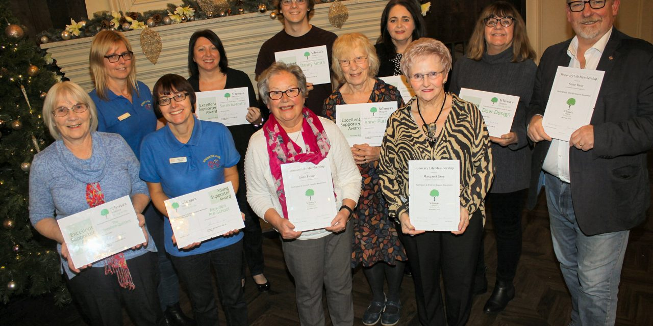 Hospice champions honoured for their support and service
