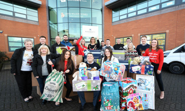 Changing Lives: Barratt Developments raise over £9,000 for local charity