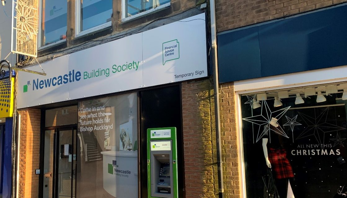 Welcome Event At New Bishop Auckland Branch Of Newcastle Building Society