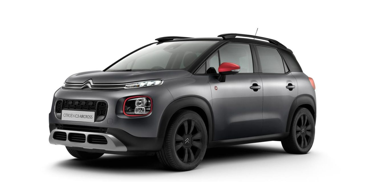 CITROËN LAUNCHES NEW 'C-SERIES' C3 AIRCROSS COMPACT SUV SPECIAL EDITION