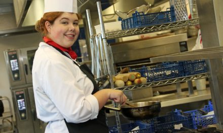 Myah make national final just weeks after stepping into the kitchen